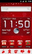 Christmas GO Launcher EX Theme for Samsung Galaxy Chat B5330