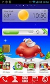 Christmas Go Launcher Android Mobile Phone Theme