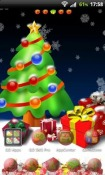 Christmas Tree Go Launcher Ex Android Mobile Phone Theme
