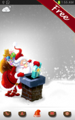 Merry Christmas Go Launcher Ex Theme for Samsung Galaxy Pocket S5300