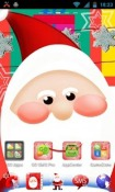 Santa Claus Go Launcher Ex Theme for Samsung Galaxy Chat B5330