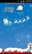 Xmas Go Launcher Ex Theme for Samsung Galaxy Rush M830