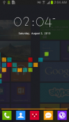 Windows 8 GO Launcher EX Samsung Galaxy Chat B5330 Theme