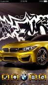 BMW M4 CLauncher Android Mobile Phone Theme