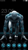 Robot Run CLauncher Android Mobile Phone Theme