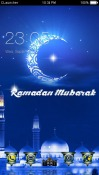 Ramadan Mubarak CLauncher Theme for G'Five Bravo G9