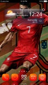 Cristiano Ronaldo CLauncher Android Mobile Phone Theme