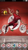 Ronaldo CLauncher Android Mobile Phone Theme