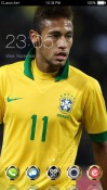 Star Neymar CLauncher Android Mobile Phone Theme