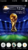 World Cup CLauncher Android Mobile Phone Theme