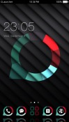 Stripe Abstract CLauncher Android Mobile Phone Theme