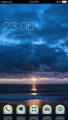 Evening Sky CLauncher Android Mobile Phone Theme