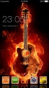 Play the Guitar CLauncher Android Mobile Phone Theme