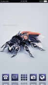 Robotic Fly CLauncher Android Mobile Phone Theme