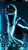 Tron Legacy CLauncher Android Mobile Phone Theme