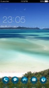 Queensland Island CLauncher Android Mobile Phone Theme