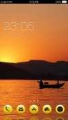 Sunrise CLauncher Android Mobile Phone Theme