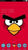 Angry Birds CLauncher Android Mobile Phone Theme