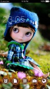 Cute Doll CLauncher Android Mobile Phone Theme
