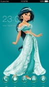 Princess Jasmine CLauncher Android Mobile Phone Theme