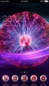 Plasma Globe CLauncher Android Mobile Phone Theme