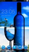 Blue Scenery CLauncher Android Mobile Phone Theme
