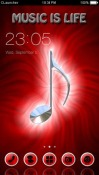 Music CLauncher Theme for HTC Desire 300
