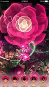Pink Flower CLauncher Theme for Samsung Galaxy Rush M830