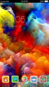Rainbow Explosion CLauncher Theme for Samsung Galaxy Rush M830