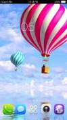 Big Colourful Balloon CLauncher Android Mobile Phone Theme