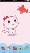 Cute Kitty CLauncher Android Mobile Phone Theme