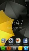 Calm Go Launcher EX Samsung Galaxy Chat B5330 Theme