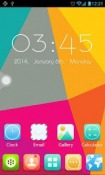 Cube Go Launcher EX Theme for QMobile NOIR A10