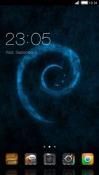 Blue Texture CLauncher Theme for LG Optimus G Pro