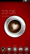 Coffee With Love CLauncher Android Mobile Phone Theme