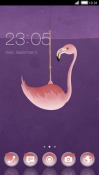 Flamingo CLauncher Theme for  Mobile Phone