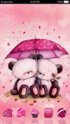 Pink Love CLauncher Android Mobile Phone Theme
