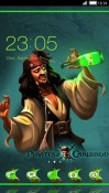 Pirate CLauncher Android Mobile Phone Theme