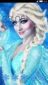 Queen Elsa CLauncher G'Five Bravo G9 Theme