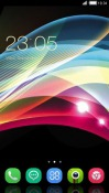 Abstract Shine CLauncher Android Mobile Phone Theme