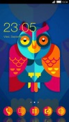 Designer Owl CLauncher Android Mobile Phone Theme