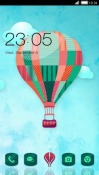 Hot Air Balloon CLauncher Android Mobile Phone Theme