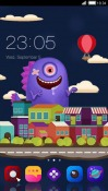 Little Monsters CLauncher Samsung Galaxy Rush M830 Theme