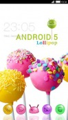 Android Lollipop CLauncher Android Mobile Phone Theme