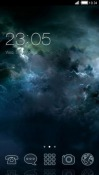 Cloudy Sky CLauncher Samsung Galaxy Rush M830 Theme