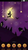 Halloween CLauncher Samsung Galaxy Rush M830 Theme