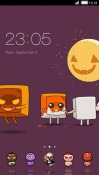 Little Halloween CLauncher HTC One X10 Theme