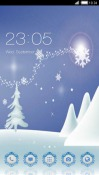 Winter CLauncher Samsung Galaxy Rush M830 Theme