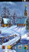 Winter House CLauncher Samsung Galaxy Rush M830 Theme