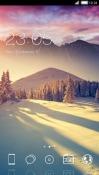 Winter Sun CLauncher Samsung Galaxy Rush M830 Theme
